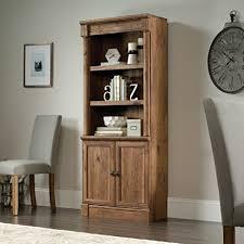 sauder 420606 palladia l desk vo a2 computer vintage oak amazon com sauder palladia 3 shelf bookcase in vintage oak office