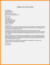 cover letter examples for college students templatezet 6 college
