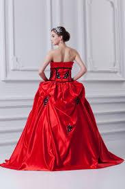 gã nstig brautkleider kaufen schwarz rot brautkleider quinceanera kleider günstig prinzessin