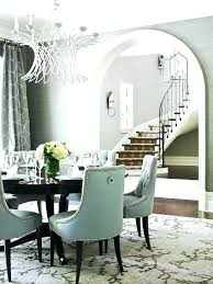 white and gray dining table grey nailhead dining chairs dining room chairs dining room
