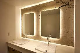 lighted bathroom wall mirror new bathroom wall mirror backlit vanity wall mirror large