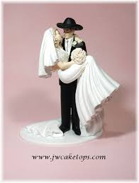 wedding cake toppers and groom western and groom wedding cake topper cowboy country