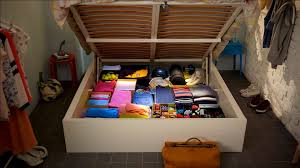 ikea hidden storage works wonders on small rooms youtube
