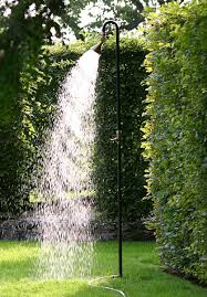 10 easy pieces freestanding outdoor showers gardenista