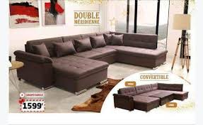 canape cuir blanc et gris recherche canapé cuir simili blanc gris taupe annonce meubles
