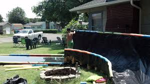 Backyard Slip N Slide Bank Curve Slip N U0027 Slide 5 Steps With Pictures