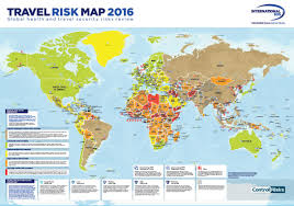 Thailand On World Map by Risk Outlook