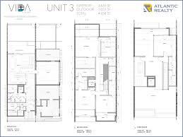 3 floor plans vida at the point miami florida homes