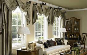 Simple Window Treatments For Large Windows Ideas Window Curtains Image Of Best Curtains For Large Windows Ideas