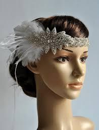 wedding headbands 1920 s rhinestone flapper headband bridal