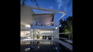 luxury modern house design with long window and sense of levity