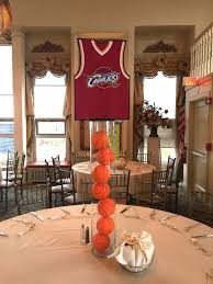 Basketball Centerpieces 30 Best Basketball Themed Bar Mitzvah Party Images On Pinterest
