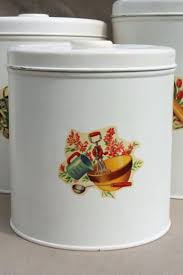 metal canisters kitchen kitchen decals for canisters vintage kitchen canisters metal