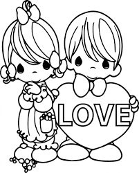 Precious Moments Love Coloring Pages Chuckbutt