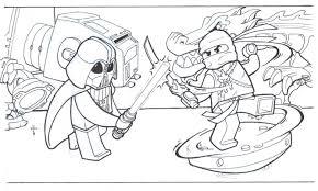 ninjago lego coloring pages murderthestout