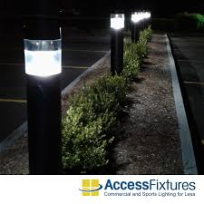 Bollard Landscape Lighting 100w Usa Ps Mh Rft Bollard Lights Reflector 120 208 240 277v