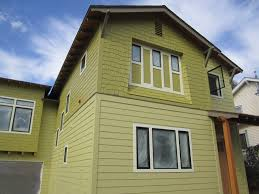 exterior house paint colors with green roof design and modern on