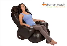 Massage Armchair Recliner Human Touch Compact Massage Chair Recliner Sharper Image