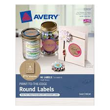 amazon com avery astrobrights color easy peel round labels all