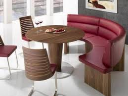 Bench Seating For Dining Room by Round Dining Table With Curved Bench Starrkingschool
