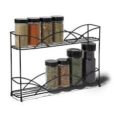 amazon com spectrum diversified countertop 2 tier spice rack