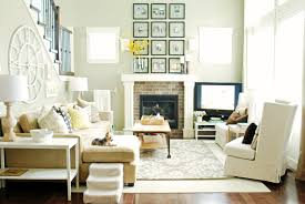 fancy interior of feng shui living room with comfortable white