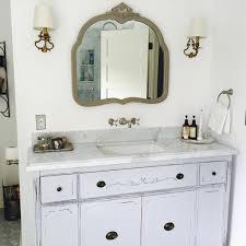bathroom vanity for double or single sink we custom convert from