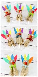 thanksgiving turkey diy crafts fall suckers and the
