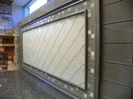wholesale backsplash tile kitchen studio s arabesque crackled glass and subway tile backsplash
