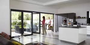 Aluminium Folding Patio Doors Aluminium Bifold Patio Doors Lifestyle Window Systems