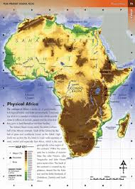 africa map physical physical map of east africa africa map