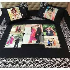Customize Your Own Bed Set Personalized Anniversary Bed Sheet At Rs 3500 Piece S Surya