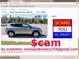 nissan altima for sale craigslist scam ads with email addresses and phone numbers posted 02 28 14