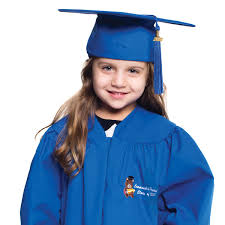 kindergarten graduation cap and gown rhyme graduation caps and gowns for preschool and