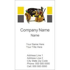 Avery 5871 Business Cards Templates Tool Belt Business Card Tall 10 Per Sheet Avery
