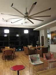 decorating strong ceiling dark steel with wonderful big assfan