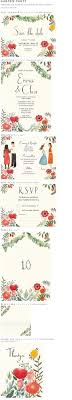 wedding quotes quote garden illustrated wedding invitations with calligraphy wedding stuff i