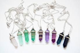 jewelry crystal necklace images Jewels crystal necklace healing crystal healing quartz jpg
