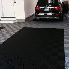 flooring ideas large garage design ideas with black and white
