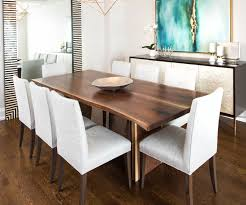 Solid Walnut Dining Table And Chairs Attractive Live Edge Kitchen Table And Wood Furniture 2017