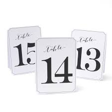 drafting table michaels wedding table numbers and place cards holders michaels