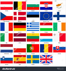 Flags Countries All Flags Countries European Union Stock Vector 472320586