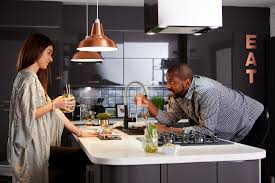 Kitchen Under Cabinet Lighting B Q by Kitchen Cabinet Lighting Bq Builtin Shelves Surrounding Fireplace