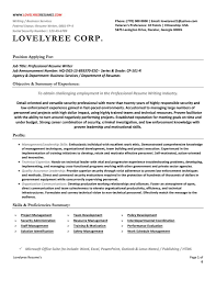 Resume Writing Powerpoint Classic Executive Professional Resume With Cover Letter