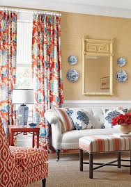 Perfect Living Room Yellow And Red Color Scheme Throughout - Red and blue living room decor