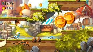 run apk android the smurfs epic run for android free the smurfs epic