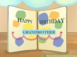 3 ways to celebrate a grandparent u0027s birthday wikihow