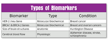 types of biomarkers u0026 breast cancer detection