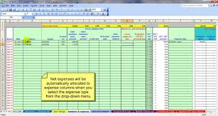 Spreadsheet Microsoft Excel Business Spreadsheet Of Expenses And Income Accounting Spreadsheet