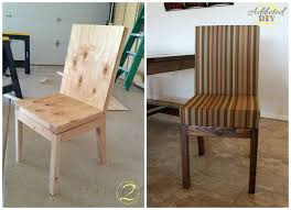 Parsons Dining Chair Diy Parsons Dining Chair Diy Chairs 11 Ways To Build Your Own